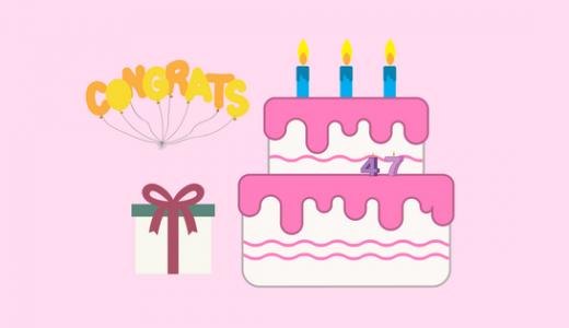 40代(アラフィフ)女性の誕生日の思い|加齢・葛藤・決意・感謝・特典