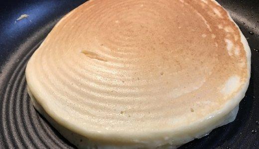 絹ごし豆腐入り!フワフワもちもちのホットケーキが美味しく簡単にできるよ