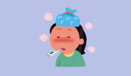 インフルエンザB型|休日診療受診の費用|症状・治癒経過記録